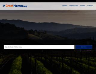 greathomes.org screenshot