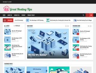 greathostingtips.com screenshot