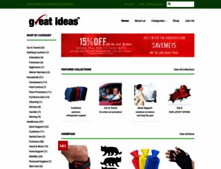 greatideas.co.uk screenshot