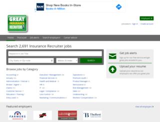 greatinsurancerecruiters.com screenshot