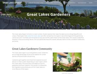 greatlakesgardeners.com screenshot