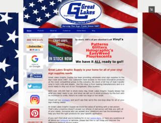 greatlakesgraphicsupply.com screenshot