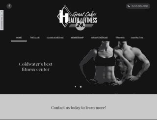 greatlakeshealthfitness.com screenshot