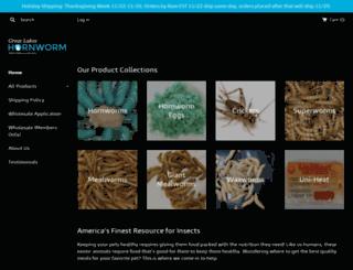 greatlakeshornworm.com screenshot