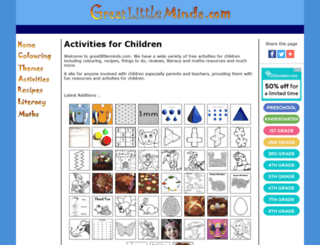 greatlittleminds.com screenshot