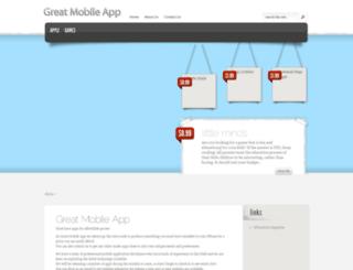 greatmobileapp.com screenshot