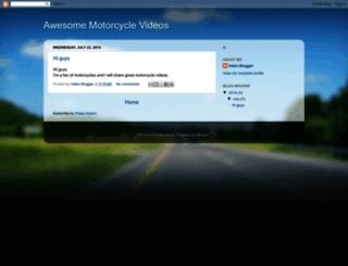 greatmotorcycles.blogspot.com screenshot