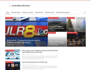 greatmumadventure.com screenshot