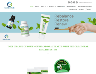 greatoralhealth.com screenshot