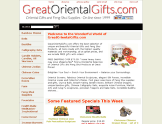 greatorientalgifts.com screenshot