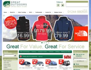 greatoutdoorsdirect.co.uk screenshot