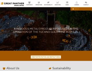greatpanther.com screenshot