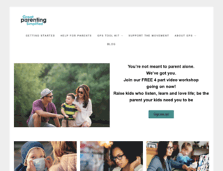 greatparentingshow.com screenshot