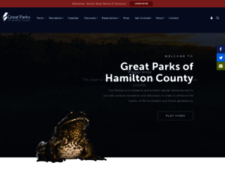 greatparks.org screenshot