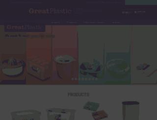 greatplastic.com screenshot