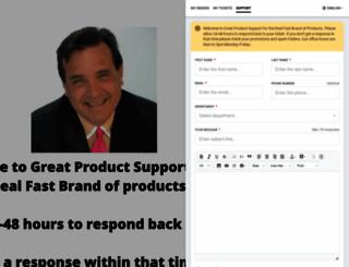 greatproductsupport.com screenshot