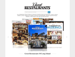 greatrestaurantsmag.com screenshot
