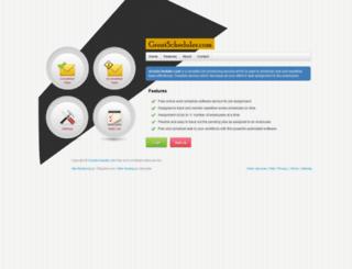 greatscheduler.com screenshot
