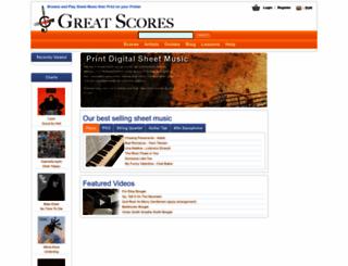 greatscores.com screenshot