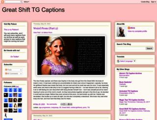 greatshiftcaptions.blogspot.com screenshot
