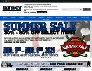 greatskate.com screenshot