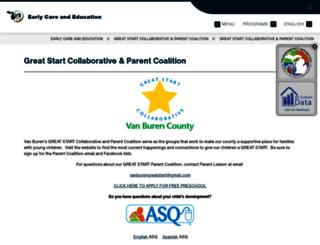 greatstart-vanburen.org screenshot