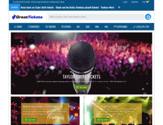 greattickets.com screenshot
