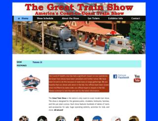 greattrainexpo.com screenshot