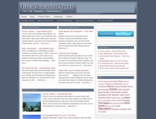 greatvacationspots.net screenshot