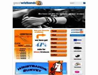 greatwristbands.com screenshot