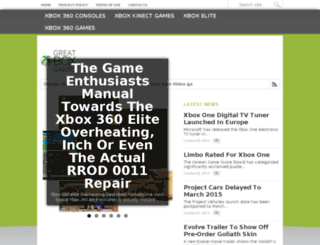 greatxboxgames.com screenshot