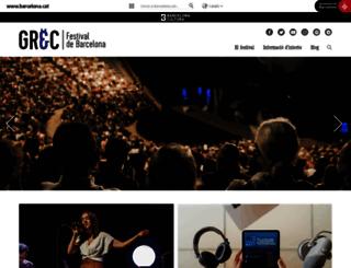 grec.bcn.cat screenshot
