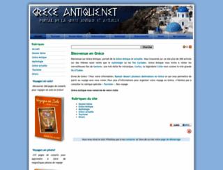 greceantique.net screenshot