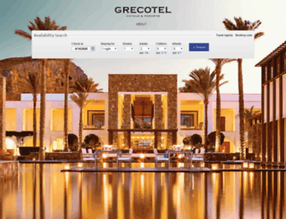 grecotel.reserve-online.net screenshot