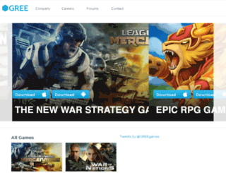 gree-corp.com screenshot