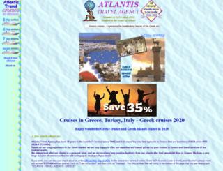 greece-cruises.com screenshot