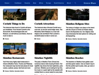 greece-map.net screenshot