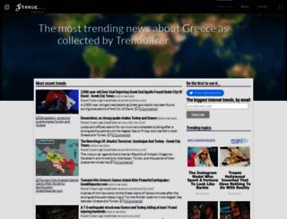 greece.trendolizer.com screenshot