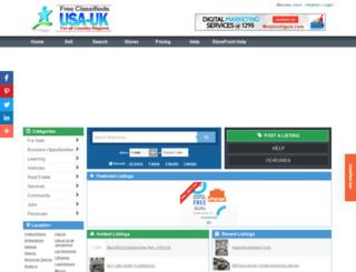 greece.usauk-classifieds.com screenshot