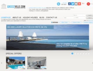 greeceville.com screenshot