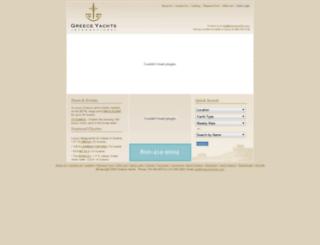 greeceyachts.com screenshot