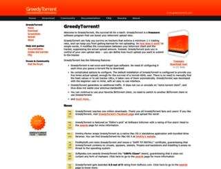 greedytorrent.com screenshot