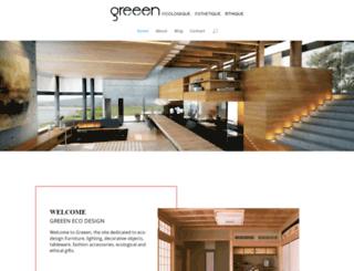 greeen-store.com screenshot