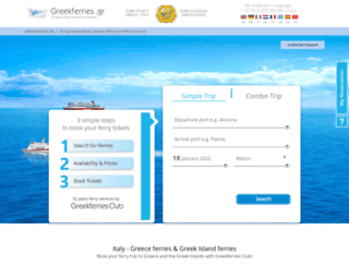 greekferries.gr screenshot