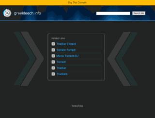 greekleech.info screenshot