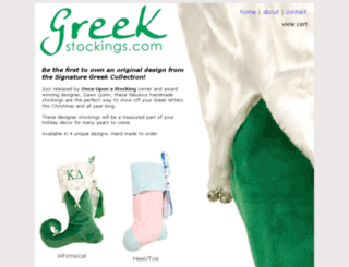 greekstockings.com screenshot