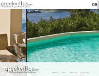greekvillas.com screenshot