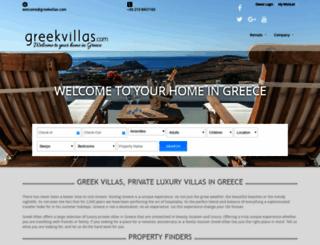 greekvillas.imbookingsecure.com screenshot