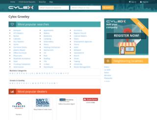 greeley.cylex-usa.com screenshot