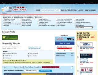 green-by-phone.topcreditcardprocessors.com screenshot